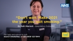 Four in 10 smokers plan to quit in 2021