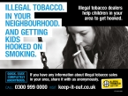 Information floods in on illegal tobacco sales following Keep It Out campaign