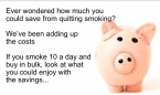 Quit smoking and look at the savings